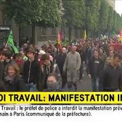 Manifestation interdite: «Une décision très grave», assure Florian Philippot