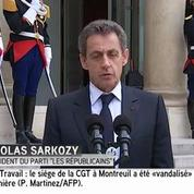 Brexit: Nicolas Sarkozy souhaite «une initiative forte» de la France
