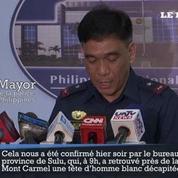 Philippines : la police confirme la mort de l'otage canadien