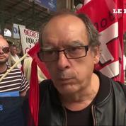 Des syndicats bloquent le train de l'Euro 2016 à Paris