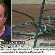 Le siège de la CGT à Montreuil a été «vandalisé» d'après Philippe Martinez