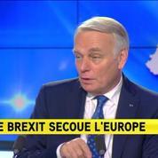 Brexit : Il faut une Europe qui fasse davantage participer les citoyens pour Jean-Marc Ayrault