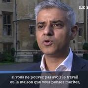 Le maire de Londres condamne les attaques racistes au lendemain du Brexit