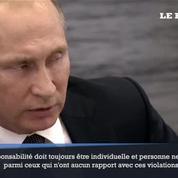 Après la suspension de la Russie, Poutine espère une «réaction» du CIO