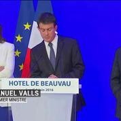Inondations : Manuel Valls annonce la mise d'un fond d'extrême urgence pour les sinistrés