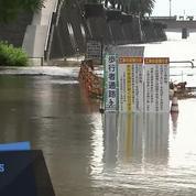 Japon: 2 morts et 4 disparus à cause de pluies diluviennes