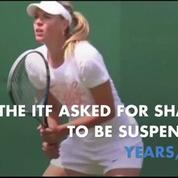 Maria Sharapova banned from tennis for two years following failed drug test