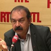 Militants CGT avec des pavés : « Chacun essaie de se défendre », affirme Philippe Martinez
