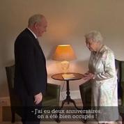 La reine commente le Brexit avec humour