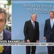 Ouverture d'une Initiative pour la paix au Proche Orient à Paris