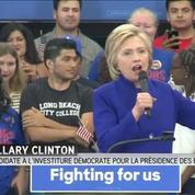 Clinton déclarée gagnante des primaires par les médias, Sanders conteste