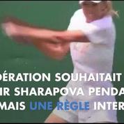 Maria Sharapova suspendue deux ans après un test positif