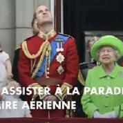 Toute la famille royale au balcon de Buckingham pour les 90 ans de la reine Elizabeth II