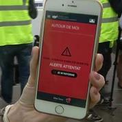 Une application pour smartphone en cas d'attentat