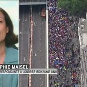 A Londres, des milliers de Britanniques disent je t'aime à l'UE