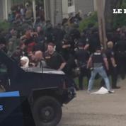 Etats-Unis : manifestation tendue à Baton Rouge entre forces de l'ordre et manifestants