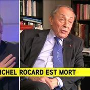 Valls sur le décès de Rocard: C'est une part de la France qui s'en va