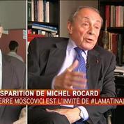 Michel Rocard a toujours détesté la gauche qui proclame, estime Pierre Moscovici