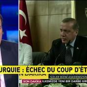 Turquie: on préfère toujours un gouvernement élu au lieu d'un groupe putschiste