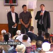 Trois jours après le drame, chrétiens et musulmans partagent leur peine à Saint-Étienne-du-Rouvray