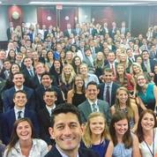 Le selfie de Paul Ryan, révélateur du manque de diversité dans les institutions américaines