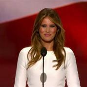 L'épouse de Donald Trump accusée d'avoir plagié Michelle Obama