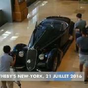 Sotheby's met en vente une voiture d'avant-guerre estimée à plus de 15 millions $