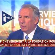 Jean-Pierre Chevènement à la tête de la fondation pour l'islam? Un choix surprenant (François Bayrou)