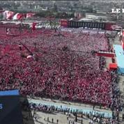Turquie: gigantesque rassemblement pro-Erdogan à Istanbul