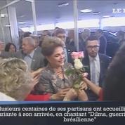 Brésil: Dilma Rousseff joue sa dernière carte au Sénat
