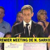 Nicolas Sarkozy veut une loi d'interdiction du burkini