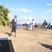 Une centaine de réfugiés tente de passer en force à la frontière franco-italienne