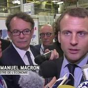 Même en vacances, Emmanuel Macron est toujours en marche