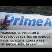 Découvrez le premier avion de livraison d'Amazon