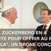 Le pape a reçu Marc Zuckerberg, le créateur de Facebook
