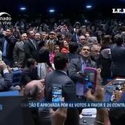 Brésil: la présidente Dilma Rousseff est officiellement destituée