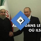 Moscou passe désormais par l'Iran pour frapper la Syrie