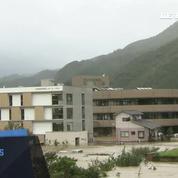 Le typhon Malakas frappe le sud-est du Japon