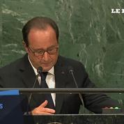 Syrie : «ça suffit!» pour François Hollande devant l'ONU