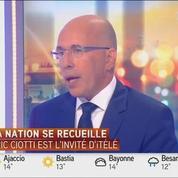 Éric Ciotti réclame un hommage national spécifique à l'attentat de Nice