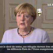 Angela Merkel : « Il faut stopper l'immigration illégale »