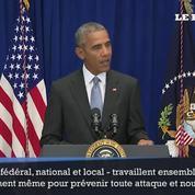 Attentats : Obama veut rassurer les Américains