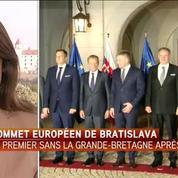 Sommet européen de Bratislava: première réunion des 27 depuis le brexit