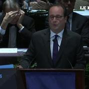 François Hollande a reçu le prix de