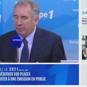 Pour François Bayrou, Alain Juppé est «honnête, rassembleur et courageux»