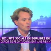 Sécurité sociale: On a eu une vraie reprise sur ces douze derniers mois, selon l'économiste Frédéric Bizard