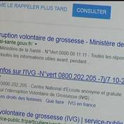 Le gouvernement veut pénaliser les sites anti-IVG