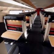 Des images de l'Océane, le nouveau TGV de la SNCF