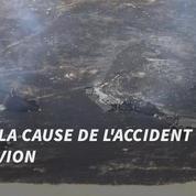Un avion espion s'écrase en Californie