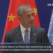 COP21 : la Chine et les États-Unis ratifient l'accord de Paris sur le climat